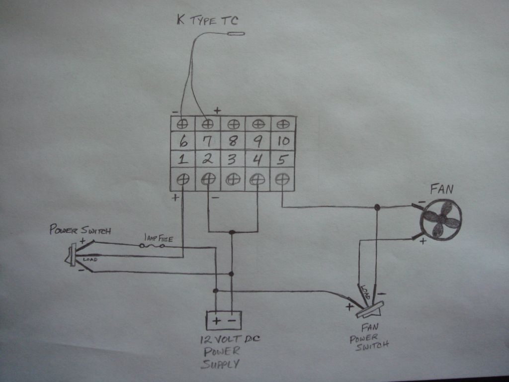 smoker temperature controller wiring to pid electric brewery control  #53595F